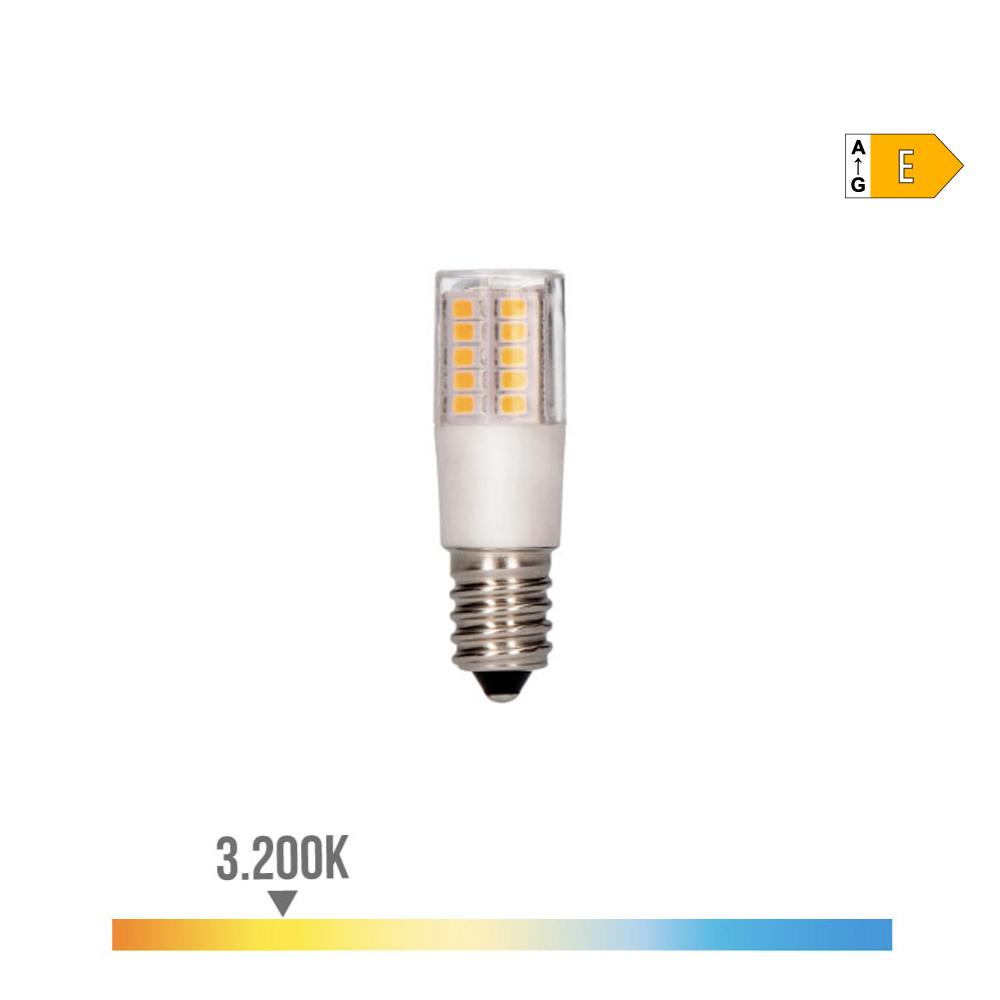 Bombilla Led Pebetero E14 5.5W 3200K 230V 650 Lumens Con Base Ceramica  Edm