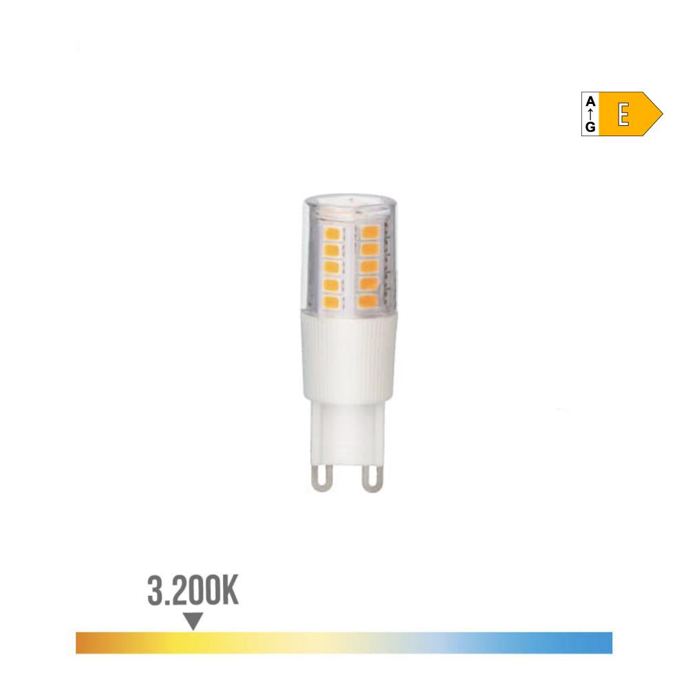 Bombilla Led G-9 5.5W  3200K 230V 650Lumens Con Base Ceramica  Edm