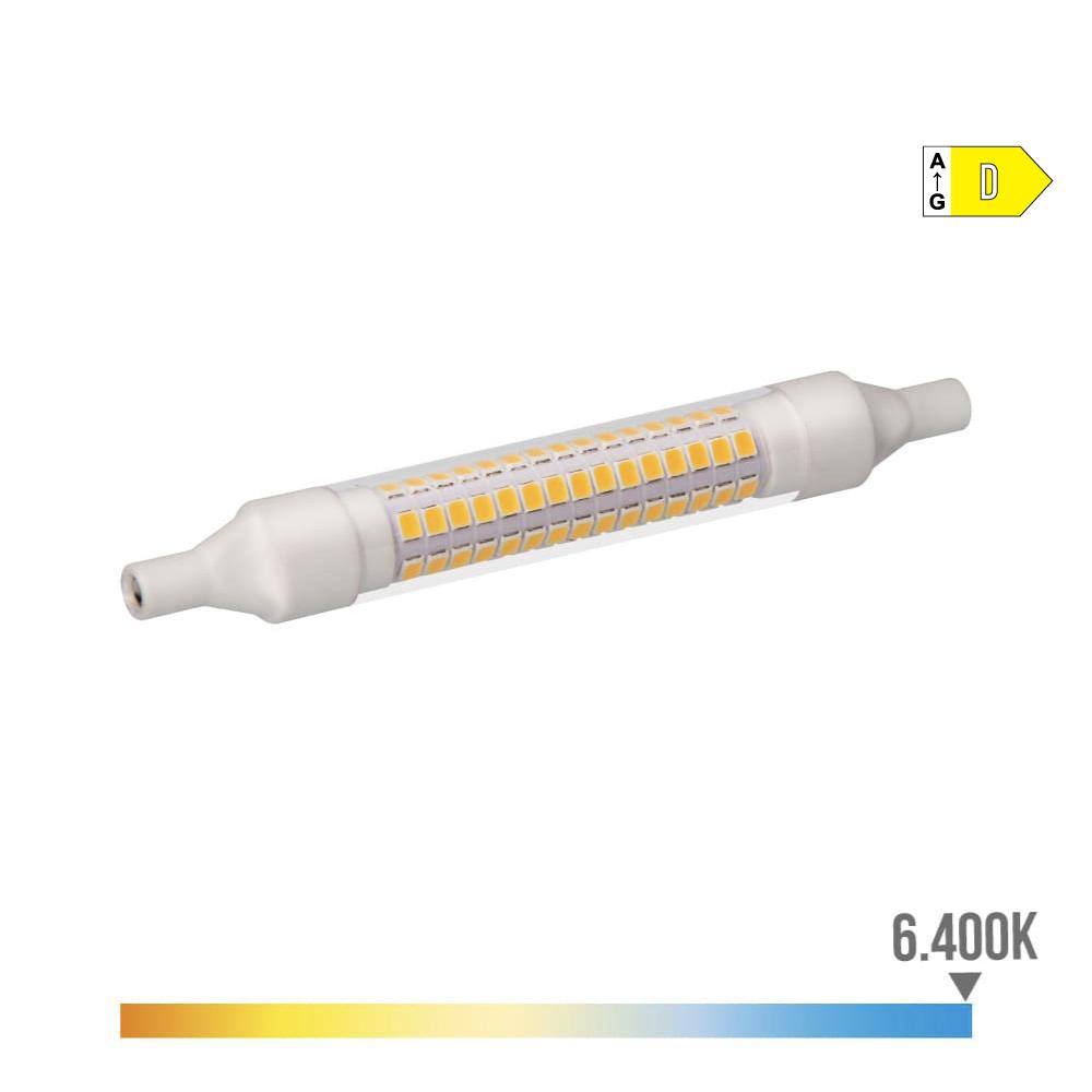 Bombilla Lineal Led 118Mm 9W 6400K 230V 1100 Lumens Con Base Ceramica  Edm