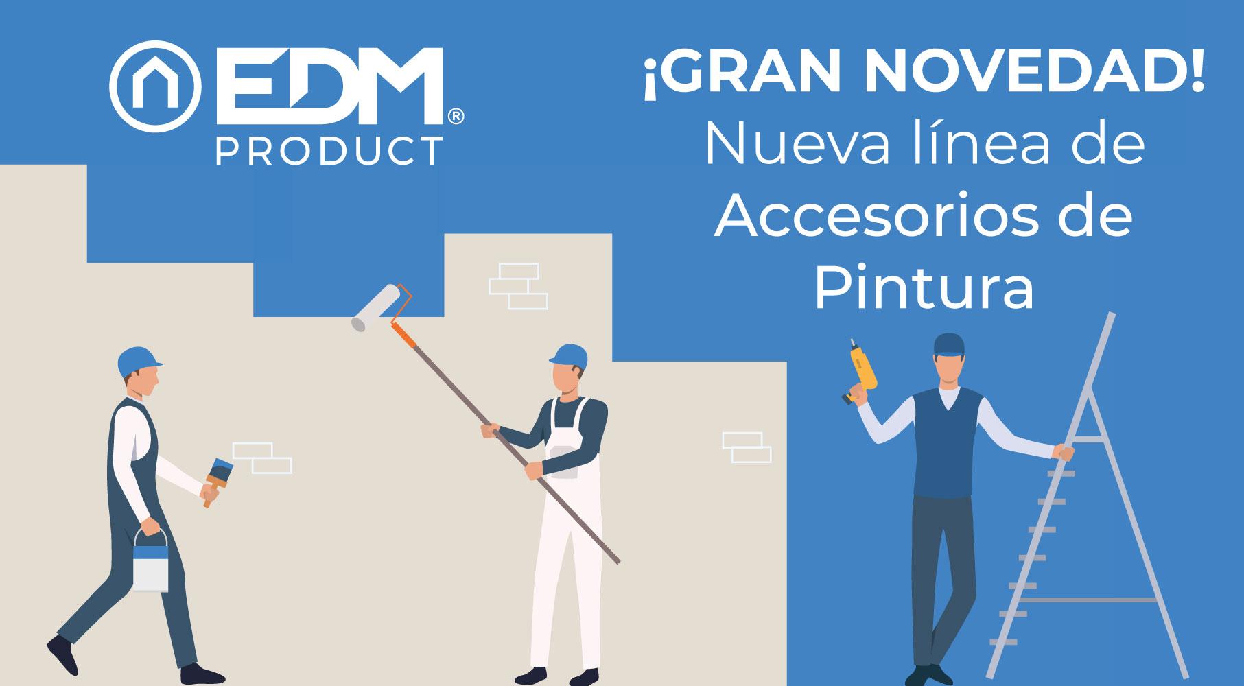 Nouvelle gamme d'accessoires de peinture EDM