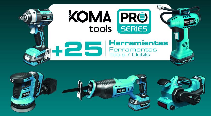 Ampliação Koma Tools