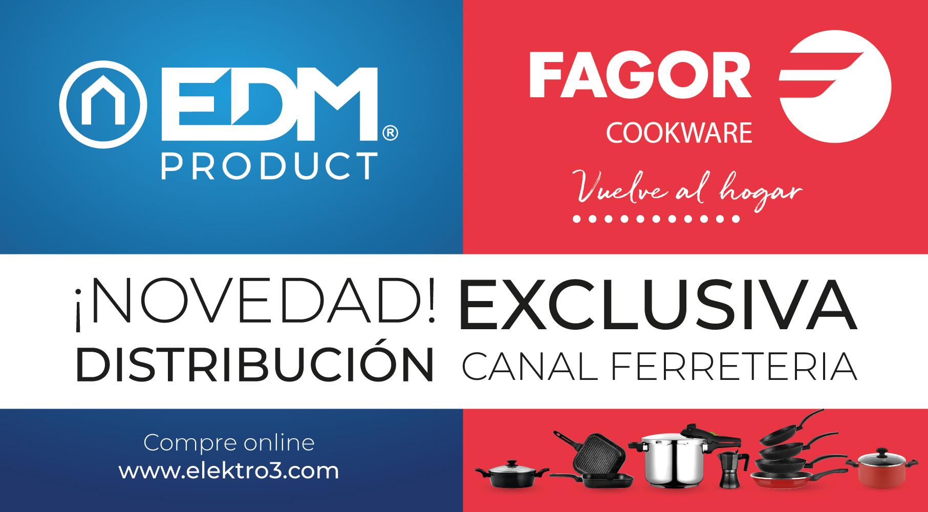 Novo acordo comercial Fagor - Elektro3 - EDM