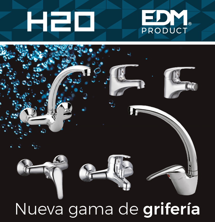 H2O, nuestra nueva línea de grifería