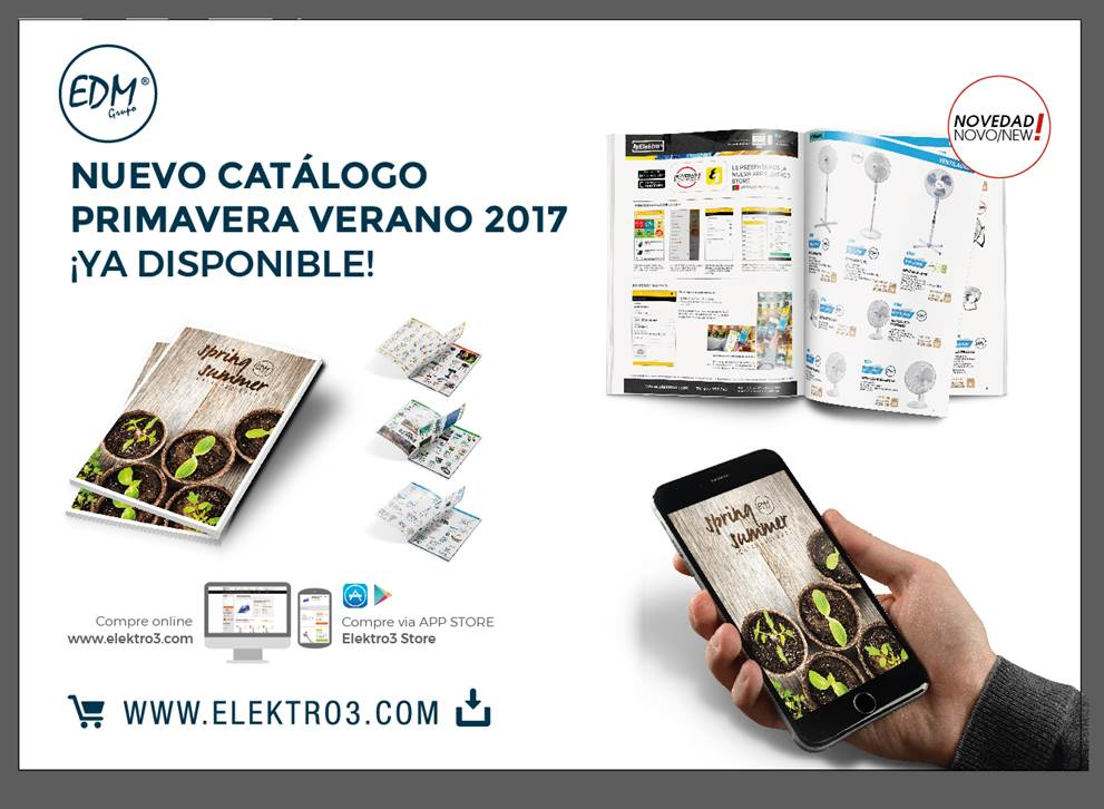 NEW  CATALOGUE PRIMAVERA-VERANO 2017 Y LLENO DE NOVEDADES!!!