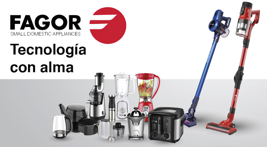 New EDM and FAGOR agreement for small household appliances