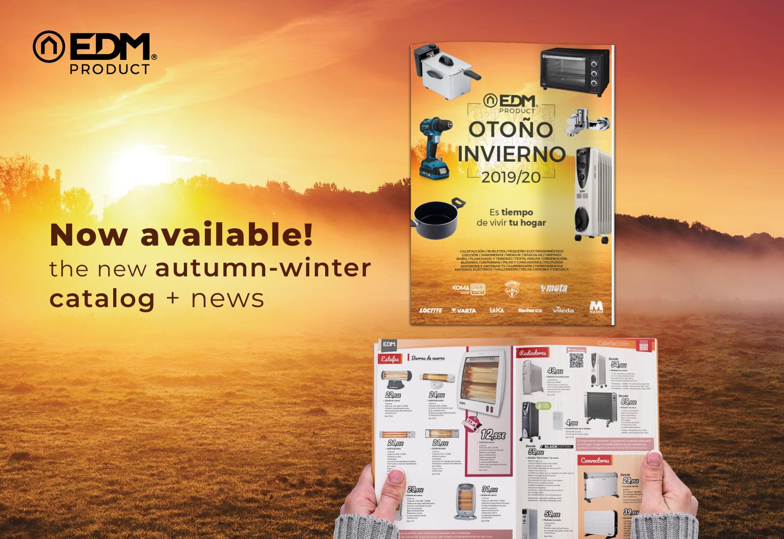 New Autumn/Winter Catalague 2019