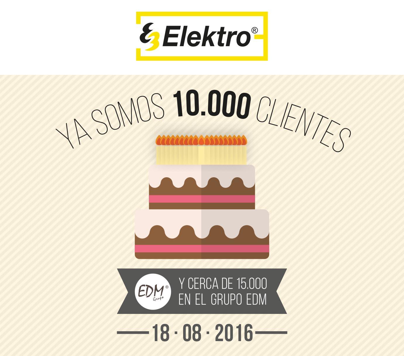 Graças aos nossos 10.000 10.000 clientes !!!