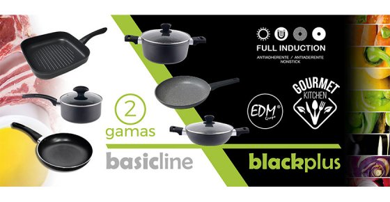 Elektro3 coloca no mercado duas novas gamas de utensilios de cozinha: Basic Line e Black Plus