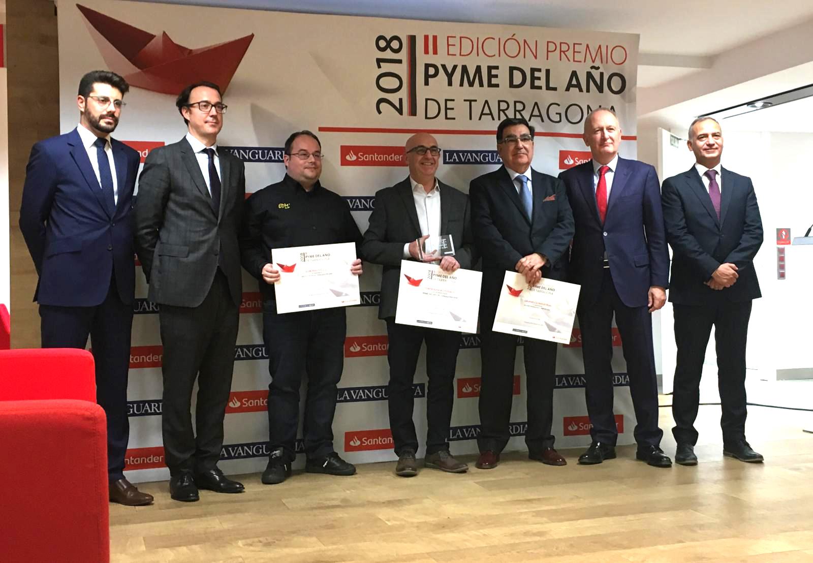 Elektro3 es galardonada con el accésit de Internacionalización en los II Premios Pyme del año de Tarragona 2018
