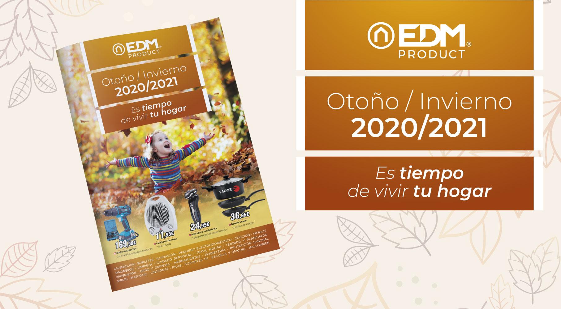 Elektro3 apresenta seu novo folheto de Outono-Inverno 2020 com mais de 1.100 produtos.